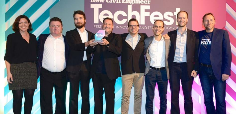 New Civil Engineer TechFest Award ceremony