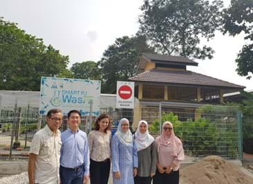 Site visit to the food waste recycling facility at Petaling Jaya