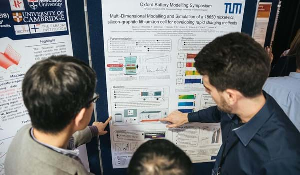 Poster Session at the Oxford Battery Modelling Symposium 2019