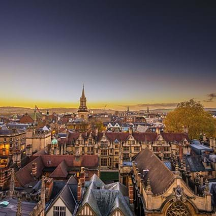 Oxford City skyline. Image by Shutterstock